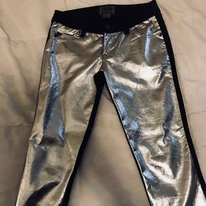 Tripp NYC Silver front pants